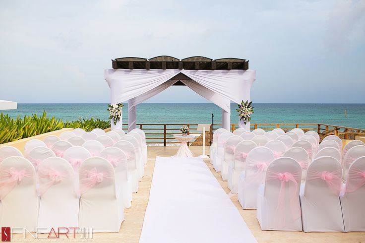 Now Jade Riviera Cancun Wedding Day