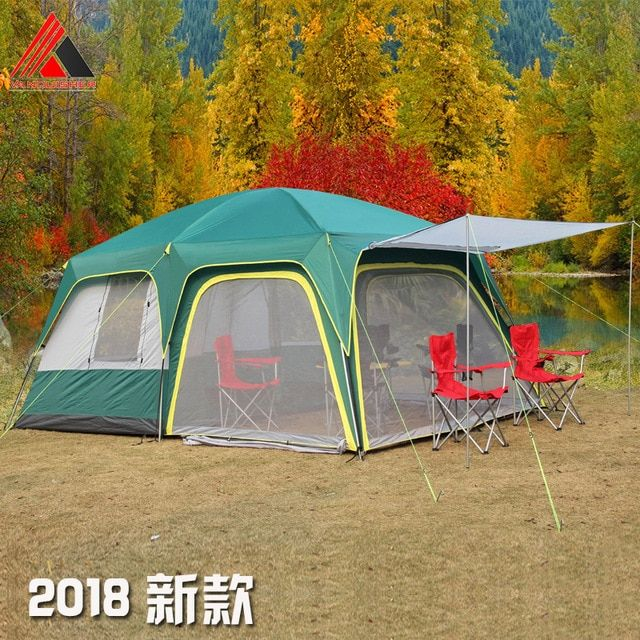 Vanquisher 2rooms 1hall 6 12 people large outdoor camping