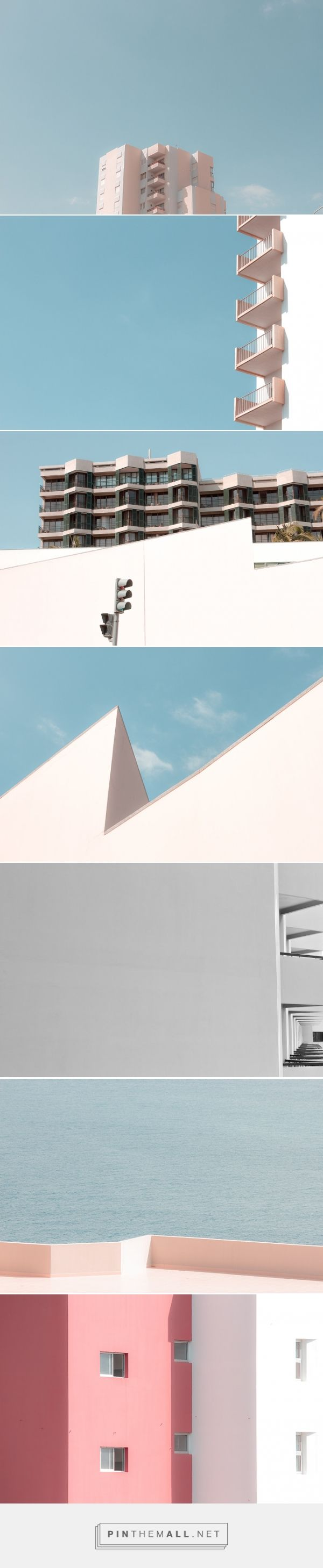 Nuno Andrade Captures Minimal Pastel Architecture Photos | iGNANT.de - created via http://pinthemall.net