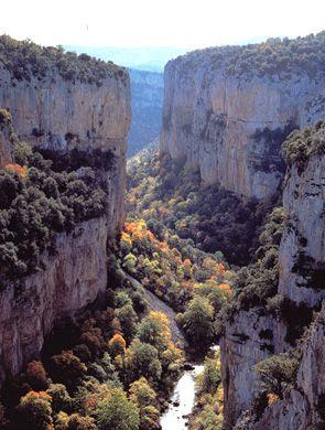 Foz de Arbayun Navarra, Spain