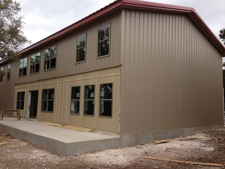 1000 ideas about barndominium on pinterest metal for Metal barn homes texas