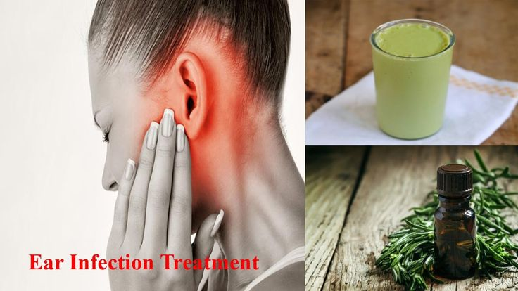 Inner ear Infection Symptoms Treatment home made Remedies - Natural reme...