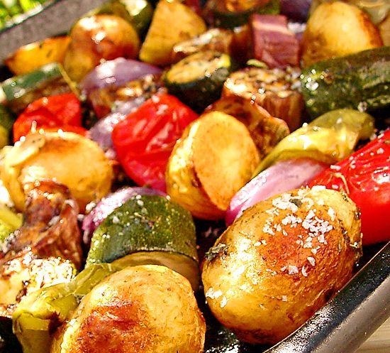 Ugnsbakade grönsaker | Recept från Köket.se