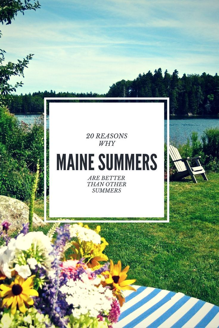 20 destinations everyone in maine needs to visit this summer in 2018