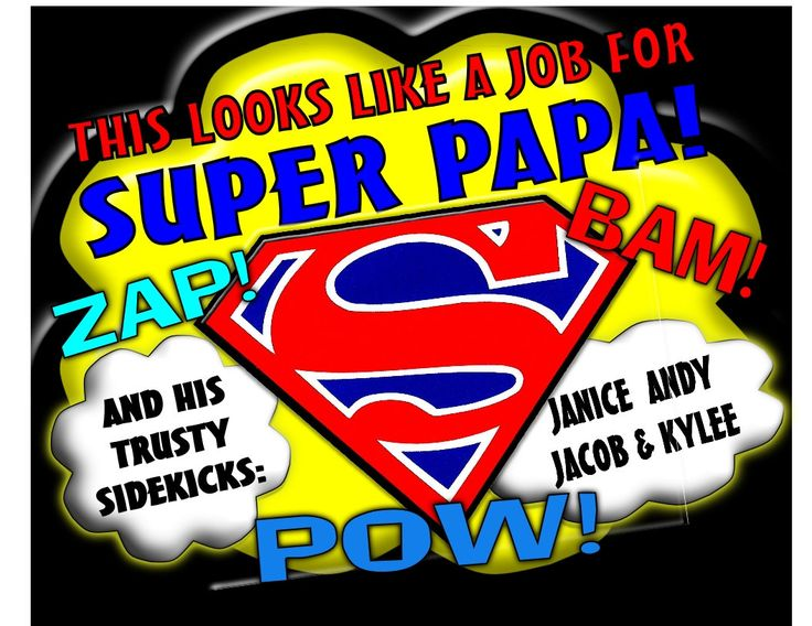 SUPER PAPA Super Hero TShirt for Papa, Grandpa, Dad, Names added Free Perfect for Him All sizes Personalized for Him by DinosaurTshirts on Etsy