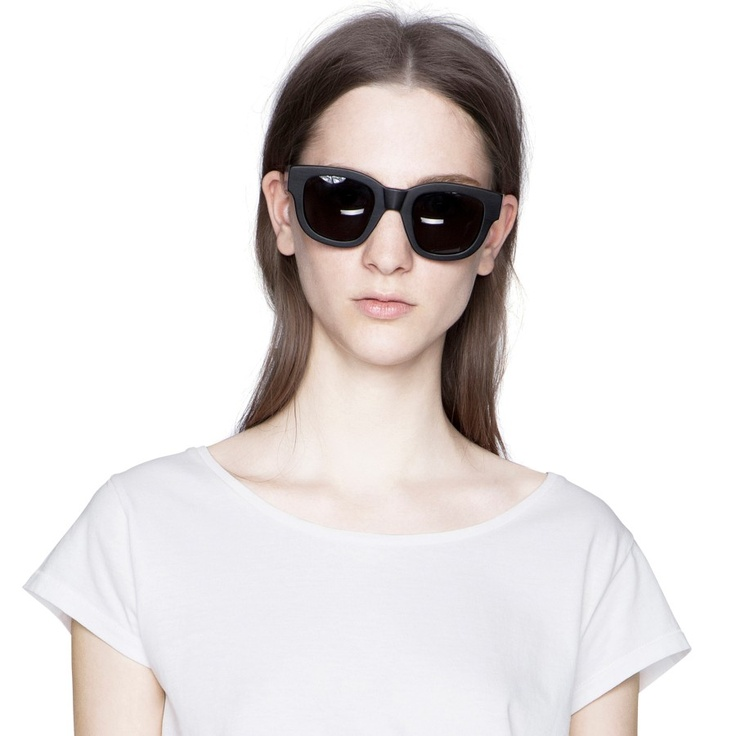 Acne Frame Black $340 | Shades and Such | Pinterest | Shops, Women's and Black