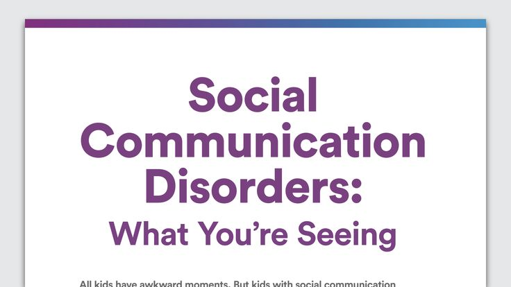 If your child is very literal or has trouble communicating, it can be tricky to pinpoint a cause. Social communication disorder is one possibility.