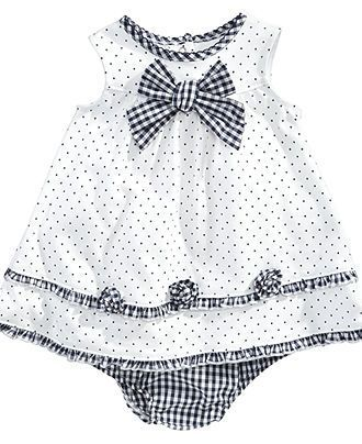 Little Me Baby Dress, Baby Girls Knit Dress with Bloomers - Kids & Baby - Macy's
