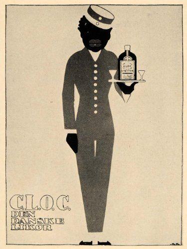 1926 Sven Brasch Danish C.L.O.C. Liqueur