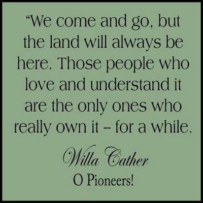 love Willa Cather's writing
