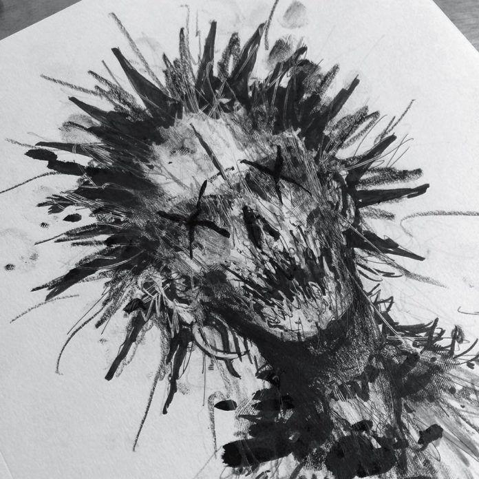 Dark Creepy Art Drawings