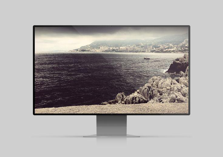 Alfreedo free stuff - Mockup - Neutral Display - Led, Mockup, Widescreen, Desktop, Monitor, Display, Stefano marvulli