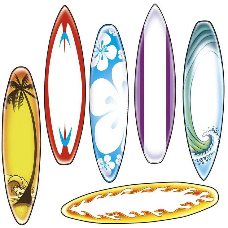 Bulletin Board Accents, Surfboard