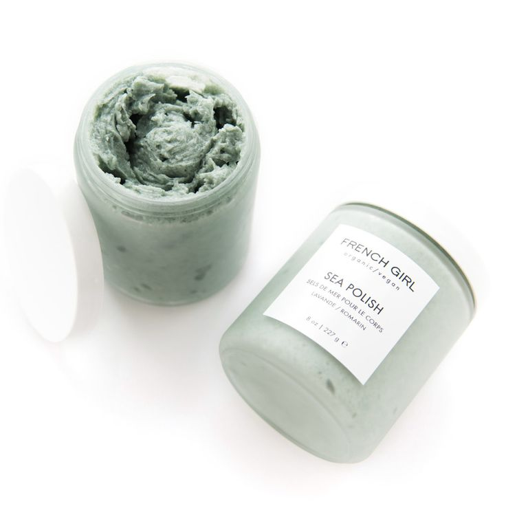 This richly moisturizing, certified-organic scrub wakes up your skin and your senses with mint, lavender, and rosemary blended with shea and coconut butters.