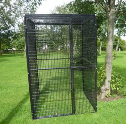Large Outdoor Parrot Aviary Pictures