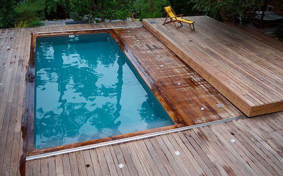 Terrasse Mobile MovingFloor à Cap Ferret. #terrasse #mobile #piscine: