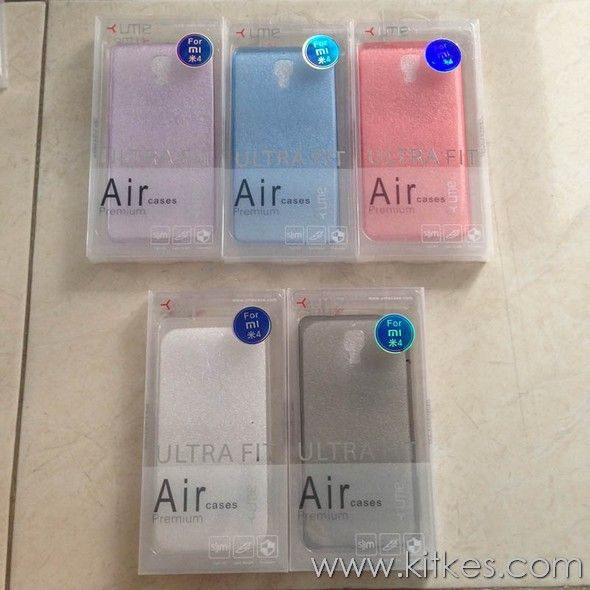 Ume UltraThin Air 0.3mm Soft Case Xiaomi Mi4 - Rp 80.000 - Kitkes.com