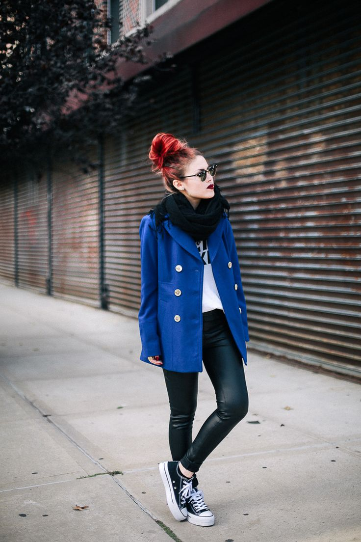 Royal Blue | Two Outfits.