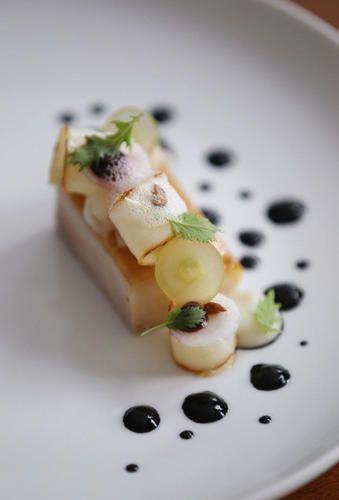 Acadia Restaurant's five-course tasting menu
