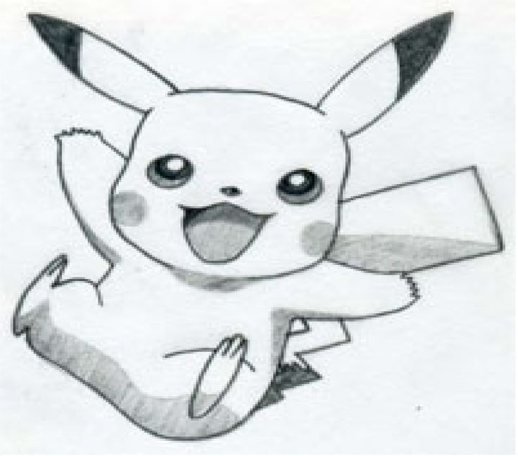Pokemon's- Pikachu ( shading ) by hanah-the-fox.deviantart ...