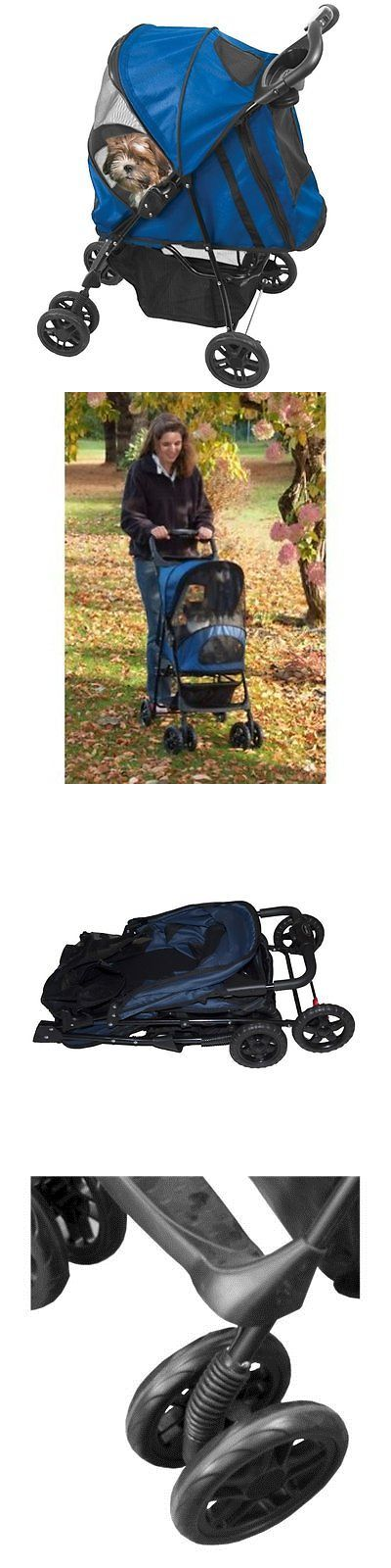 Strollers 116380: Pet Gear Happy Trails Pet Stroller For Cats And Dogs Up To 30-Pounds, Cobalt -> BUY IT NOW ONLY: $86.39 on eBay!