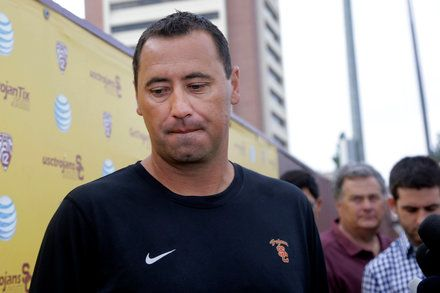 Steve Sarkisian Is Fired as U.S.C. Football Coach