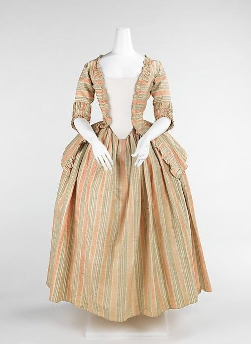 Dress ca 1775 exquisite history of fashion for Century 21 dress shirts
