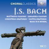 J.S. Bach: Matthäus-Passion; Johannes-Passion; Christmas Oratorio; Easter Oratorio; Mass in B minor [CD]
