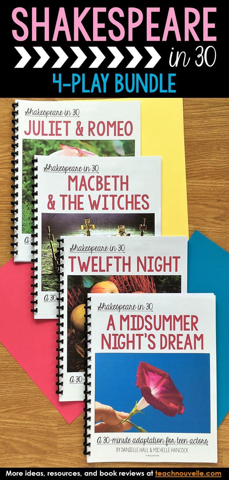 Best 25 macbeth text ideas on pinterest boss home theatre 4 plays shakespeare in 30 juliet romeo macbeth twelfth night midsummer buycottarizona