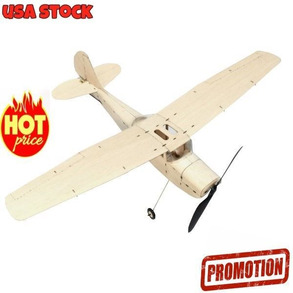 Details about MinimumRC Cessna L-19 460mm Wingspan Balsa