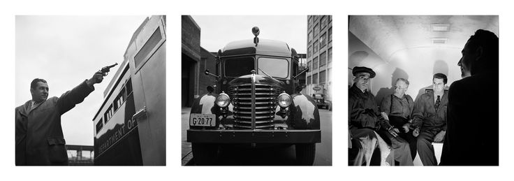 """""""Paddy Wagon - NYPD"""" by Stanley Kubrick.  Limited edition of 50."""