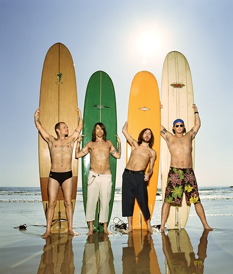 red hot chili peppers - the ultimate california band
