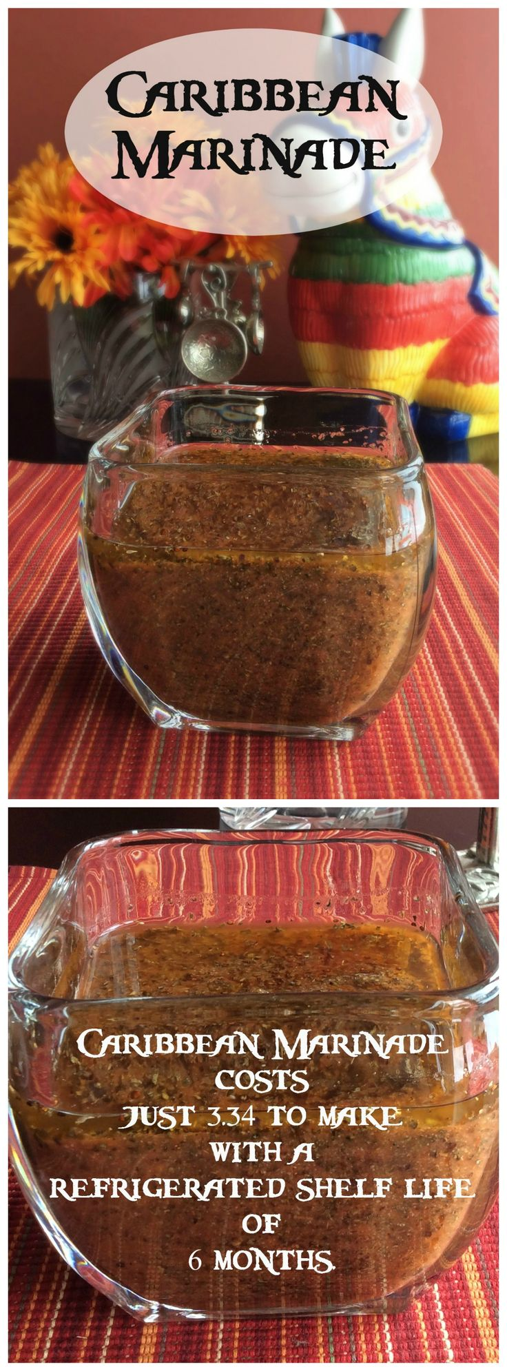 Caribbean Marinade - spice up chicken, seafood or pork with this fabulous marinade!