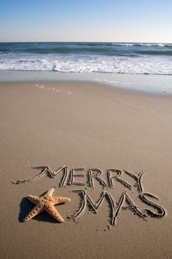 Spend Christmas at the Beach. However you celebrate it's great!