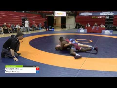 84 Cons SF - Ahmed (AJ) Alford (Navy- Marine Corps RTC) vs. Keegan Moore (OKST/Cowboy WC)