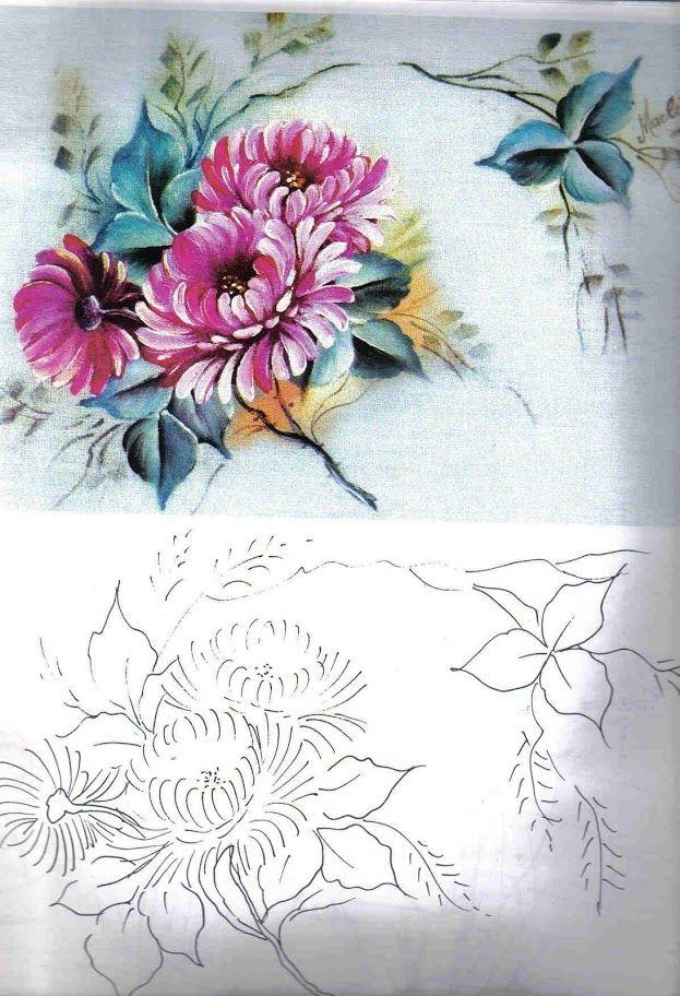 Coleção Pintura em Tecido - 300 Gravuras e Riscos - vol 1 - Rosana Mello - Álbuns da web do Picasa