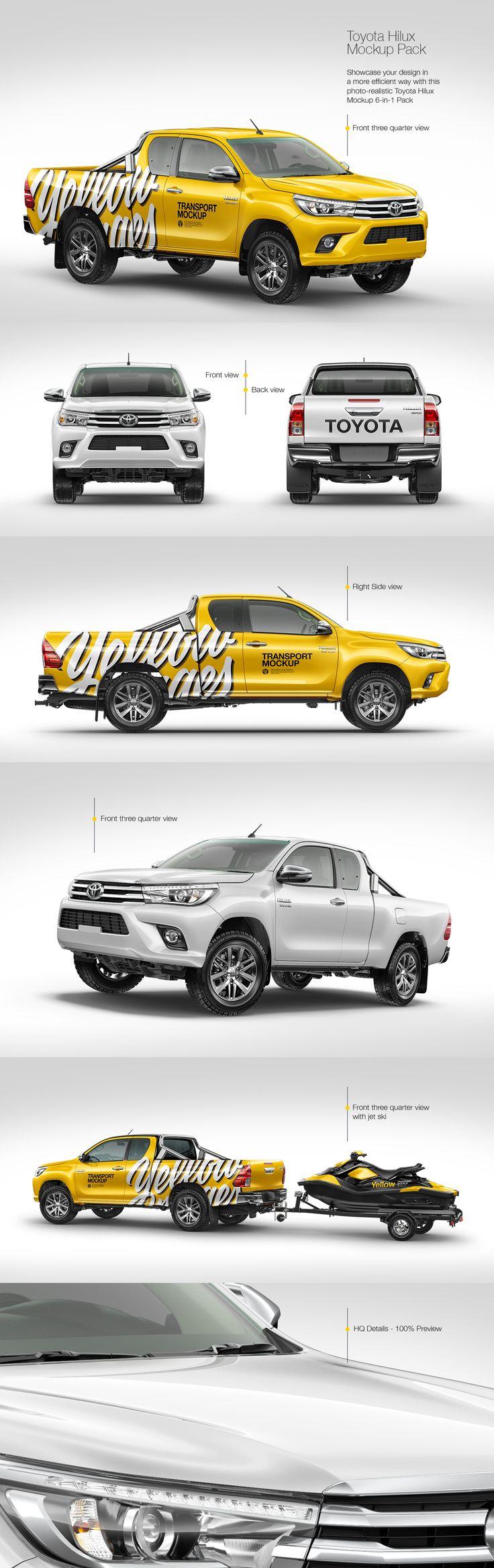 Toyota Hilux Mockup Pack
