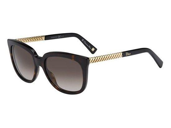 Ochelari de soare Christian Dior DIOR EVER 2 ANT/HA Auriu   OPTINOVA