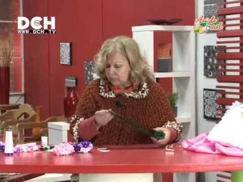 Cojín con Hortensias - Irma Ramos - YouTube
