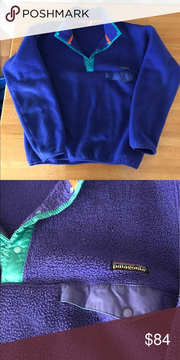 Vintage Patagonia Snap T Pullover (Men's Large) Great vintage condition, normal wear but no flaws! Patagonia Tops Sweatshirts & Hoodies