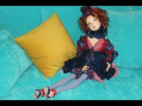 "Мастер-класс: Авторская будуарная кукла ""Марина""."