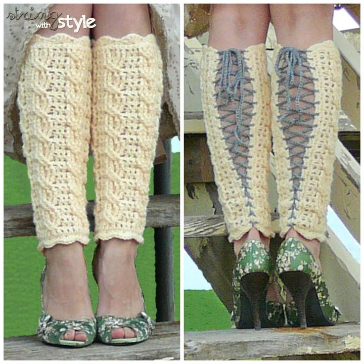 Cables of Love Legwarmers « The Yarn Box - free pattern!