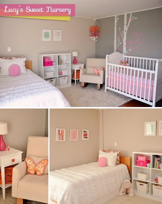 Best 25 nursery guest rooms ideas on pinterest guest Toddler girl bedroom ideas on a budget