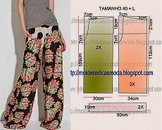 Простые выкройки: свободные штаны (6 моделей)