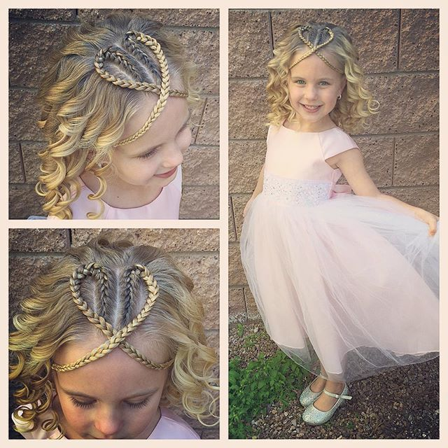 A fun princess hairstyle today for church! We did two French braids folded down and crisscrossing to make a heart with curls of course! We are almost twinning with the beautiful @ashton_hairstyles today!  #tinzbobenz #toddlerhair #toddlerhairstyles #princesshair #hearthair #heart #heartbraids #hearthairstyle #valentineshairstylescontest #valentineshair #valentines #kidshair #instasmile #instabraid #instaheart #instakids #instahair #kidsbraids #kidsbraids #readyforchurch #lds #14daysofhea