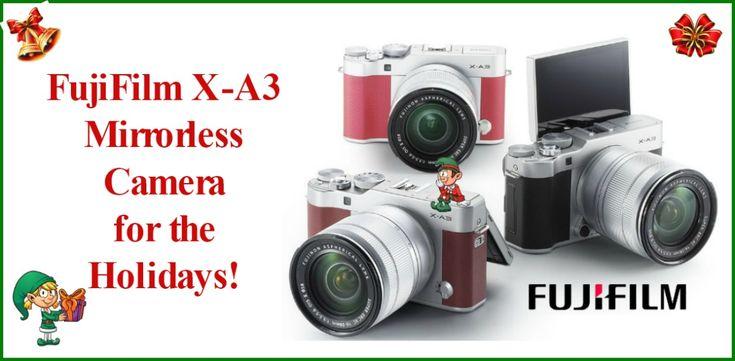 Fujifilm X-A3 Mirrorless Camera Giveaway