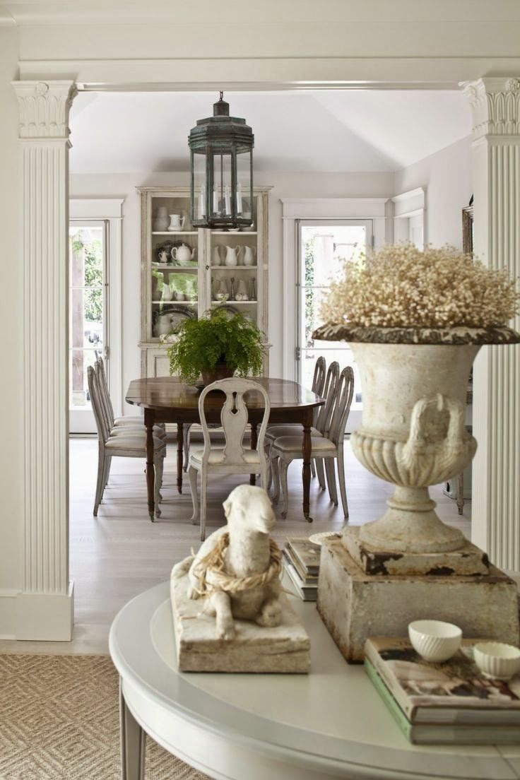 25 best ideas about neutral dining rooms on pinterest contemporary neutral dining room brick - Stylish modern dining sets for neutral toned interior ...