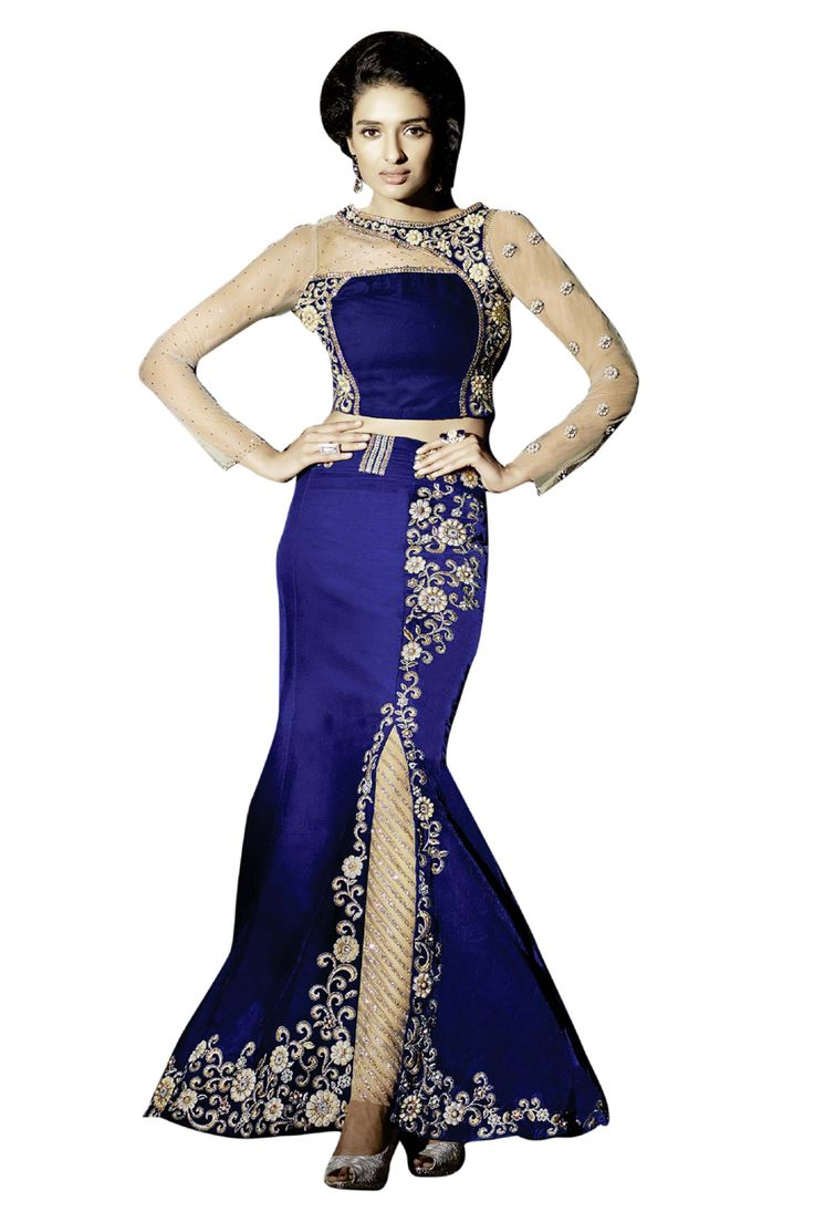 Buy Now Royal Blue Velvet with Double Bottom Indo Western Salwar Suit only at Lalgulal.com  Price :- 6,195/- inr. To Order :- http://bit.ly/ZF15003 COD & Free Shipping Available only in India #anarkalis #anarkalisuits #anarkali #allthingsbridal #designersuits #bridalsuits #ethnicfashion #celebrity #shopping #fashion #bollywood #india #indiafashion #bollywooddesigns #onlineshopping #bollywoodsuits #partywear #collection #wedding #designer #womenswear #indiandesigner #bollywoodfashion