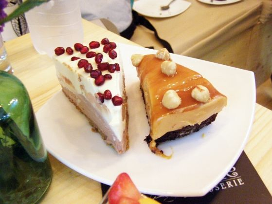 Cheesecake Snickers si cu Rodie