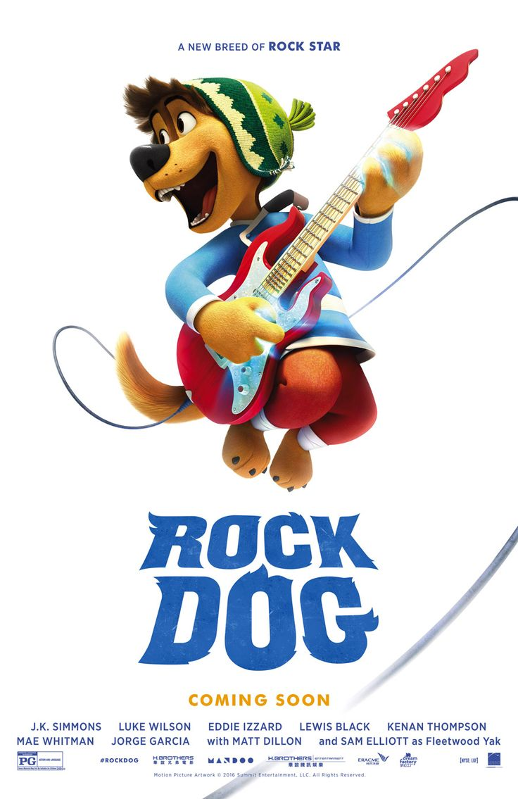 Rock dog opens at regal cinemas february 24 2017 get tickets showtimes